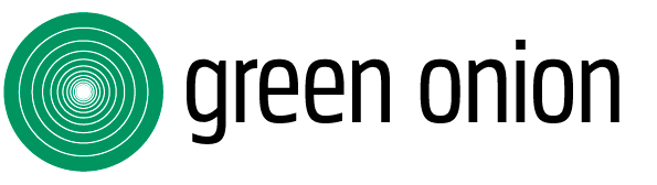 Green Onion Logotyp